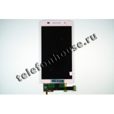 Дисплей (LCD) Huawei Ascend P6 +Touchscreen pink