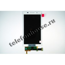 Дисплей (LCD) Huawei Ascend P6 +Touchscreen white