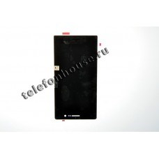 Дисплей (LCD) Huawei Ascend P7 +Touchscreen black