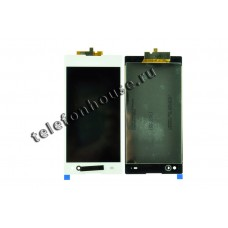 Дисплей (LCD) Sony Xperia C3 D2533/D2502+Touchscreen white AAA