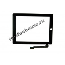 Тачскрин iPad 3/4 Black ORIG