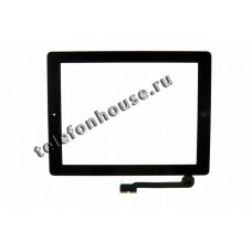 Тачскрин iPad 3/4 Black+Home ORIG